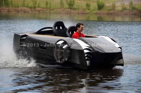 hovercraft rally fighter join corvettes autofair racing