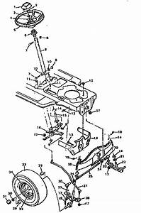 Images For Craftsman Riding Mower Steering Parts Diagram