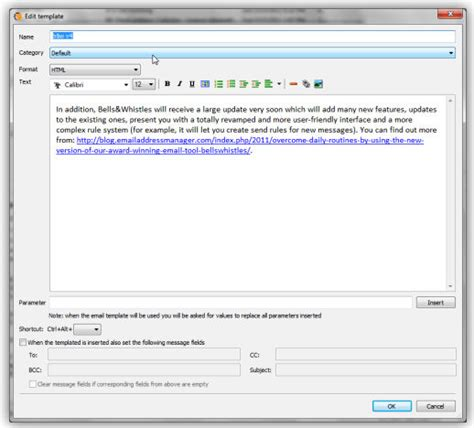 outlook email templates create outlook email templates for outlook messages with bells whistles
