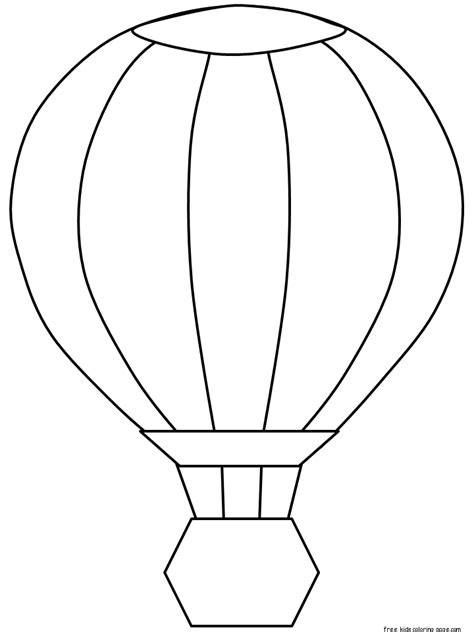 hot air balloon coloring pages  printable  kidsfree printable coloring pages  kids