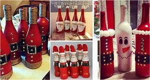 Basteln Mit Glasflaschen : mit glasflaschen basteln ideen f r nikolaus tag ~ Watch28wear.com Haus und Dekorationen