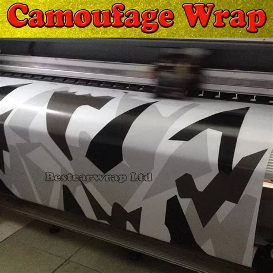 aliexpress buy white black grey snow camo vinyl car wrap styling with air rlease gloss