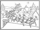 Coloring Pages Christmas Sled Coloringpages1001 sketch template