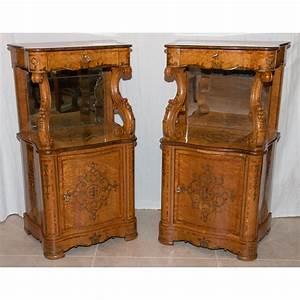 paire de meubles d39appui epoque charles x galerie lauretta With meubles charles x