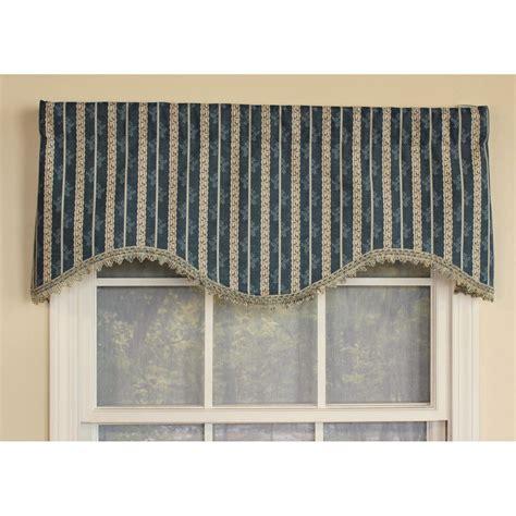 window valances and cornices ellington stripe cornice window valance ebay