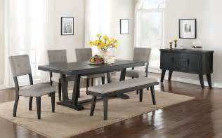Kitchen Chair Ideas - imari 7 dining room set black and grey 39 s