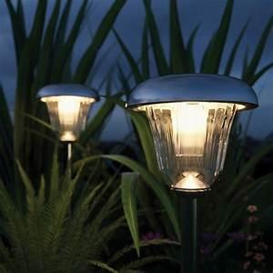 Tunbridge deluxe solar garden lights set of 2 solar for Solar lights for garden