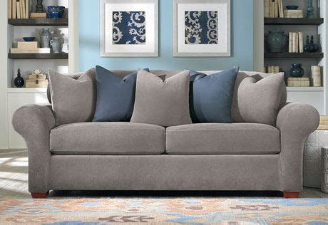 3 Slipcover For Loveseat by Stretch Pique Three Loveseat Slipcover Decorate
