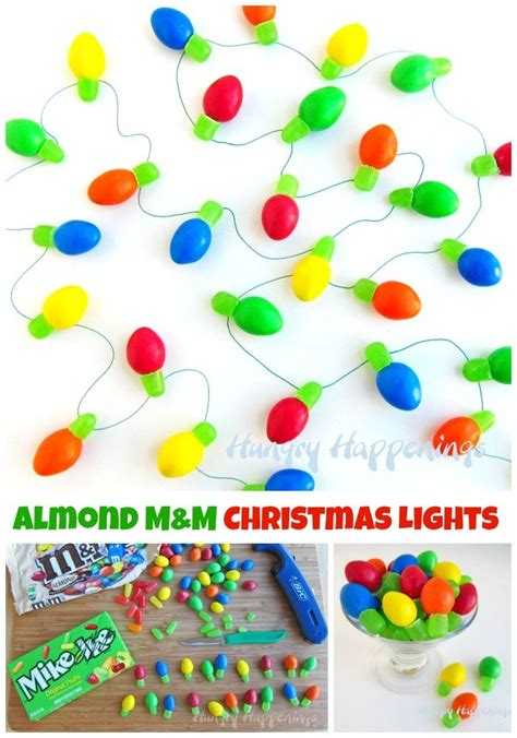 m m s and mike and ike candy christmas lights quick and