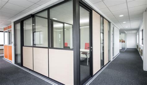 cloison aluminium bureau cloison amovible aluminium aménagement bureau espace tertiaire
