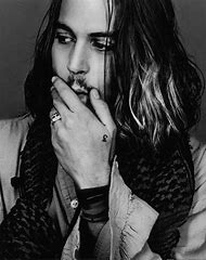Johnny Depp with Long Hair