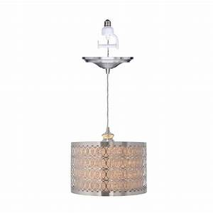 Home decorators collection bella light brushed nickel