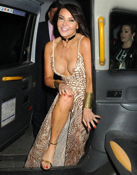 Lizzie Cundy Nude Tits In Public Nip Slip Collection