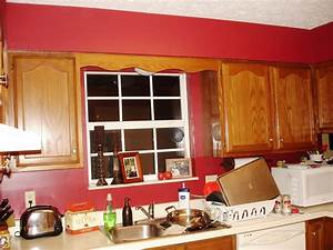 Interior paint red colors home depot red paint colors for Kitchen cabinets lowes with elk wall art