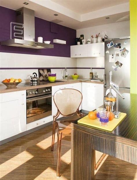 cuisine pourpre ide de couleur pour cuisine indogatecom idee de couleur