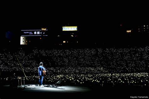 秦 基博のデビュー10周年を記念して横浜スタジアムで開催された 2部構成のスペシャルライブをwowowで6月25日