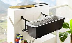 Griller Für Balkon : statt blumen gibts wurst der grill f r den balkon klonblog ~ Whattoseeinmadrid.com Haus und Dekorationen
