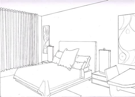 point perspective bedroom smallroomsdesigns