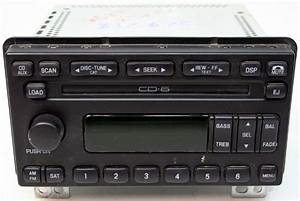 2001-2004 Ford Mustang Covertible Factory Stereo 6 Disc Changer CD Player Radio - R-2537
