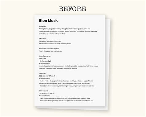 how to create your own visual resume visual learning