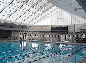 Retractable roof on municipal pool the municipal for Indoor pool with retractable roof