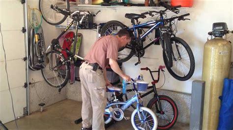 bathroom floor shelves bike storage 5 garage bicycle storage options
