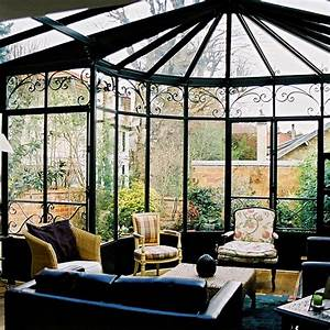 Veranda à L Ancienne : v randa fer forg avec pans coup s veranda et verri res ~ Premium-room.com Idées de Décoration
