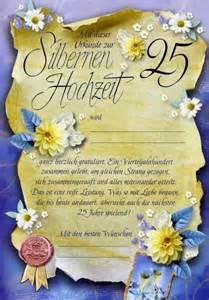 silberne hochzeit einladung riesen silberhochzeit urkunde grußkarte zur silbernen hochzeit 25 a4 505792