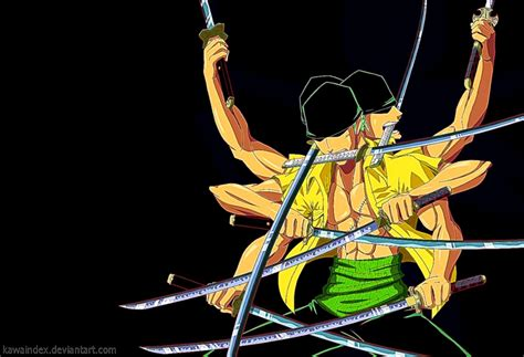 Best Roronoa Zoro Painting Wallpaper | Image Wallpaper ...