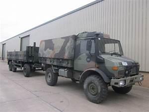 Mercedes Unimog U1300L 4x4 Drop Side Cargo Truck for sale ...