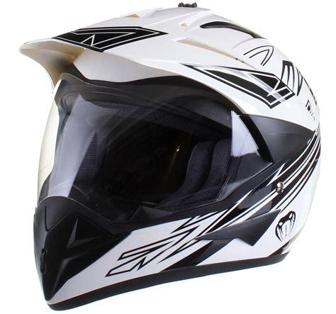 Qtech  MotocrossHelm mit Visier  OffroadEnduro eBay