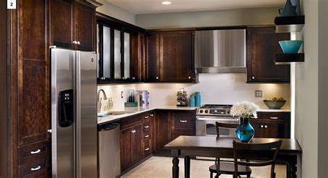 popular kitchen layouts   shaped kitchen kraftmaid