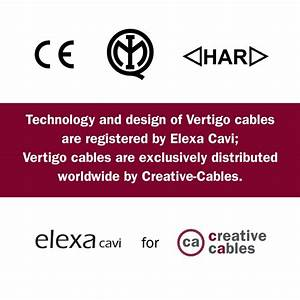 Round Electric Vertigo Hd Cable Covered By White And