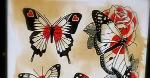 Will Koffman Tattoo: butterflies