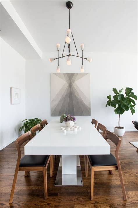 Minimalist Dining Table 25 Best Ideas About Minimalist Dining Room On Pinterest  Fall Home Decor