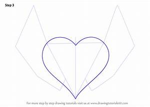 Learn How to Draw Heart with Wings (Love) Step by Step ...