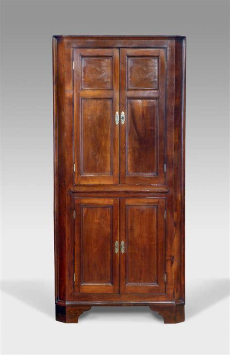 Antique corner cupboard, floor standing corner cupboard