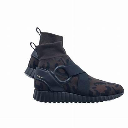 Ferragamo Leopard Sneaker Boots Wildly Tops Comfortable
