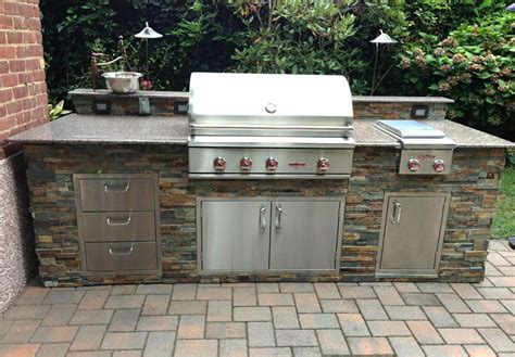 veneer for outdoor kitchen outdoor kitchens bars and grills showcase allgreen inc