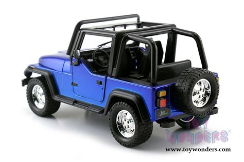 toy jeep car jada toys just trucks jeep wrangler 1992 1 24 scale
