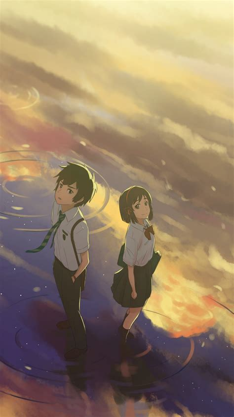 Wallpaper Your Name, anime, best animation movies, Movies #13199