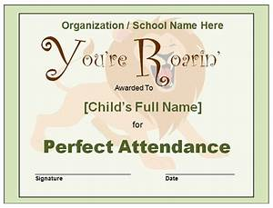 Perfect Attendance Certificate Template Search Results For Certificate Templates For Perfect Attendance Calendar 2015