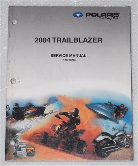 Polaris Trail Blazer Atv Service Manual Oem