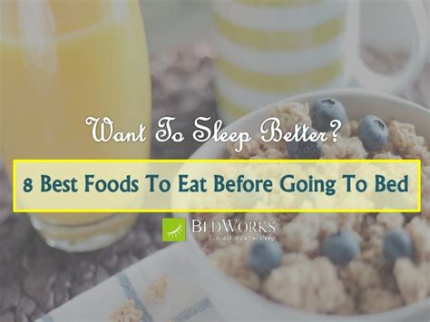 Best Foods To Eat Before Bed by 8 Best Foods To Eat Before Going To Bed