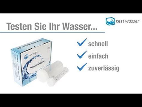 trinkwasser test f 252 r leitungswasser wasser testen lassen und trinkwasserqualit 228 t ermitteln