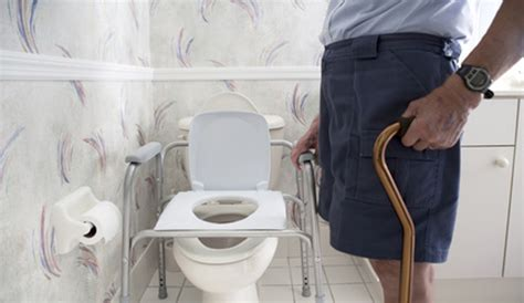 When Seniors Need Help Using The Toilet Safety Tips For