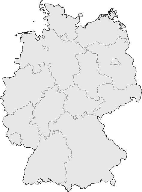 Carte Allemagne Vierge carte allemagne vierge carte vierge de l allemagne