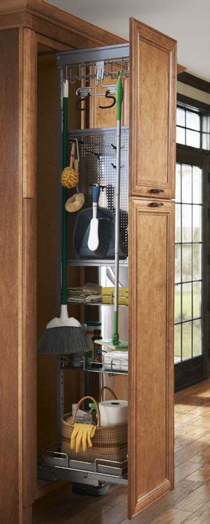 kitchen pantry storage cabinet broom closet woodworking projects plans