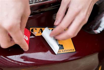 Sticker Remove Cars Vehicle Stickers Steps Removal