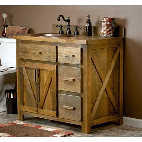 Bathroom Vanity Reclaimed Wood by Weathered Wood Bathroom Vanity 24 Quot 72 Quot Pallet Projects